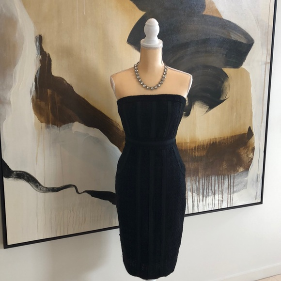 Black Strapless Dress By Size 0